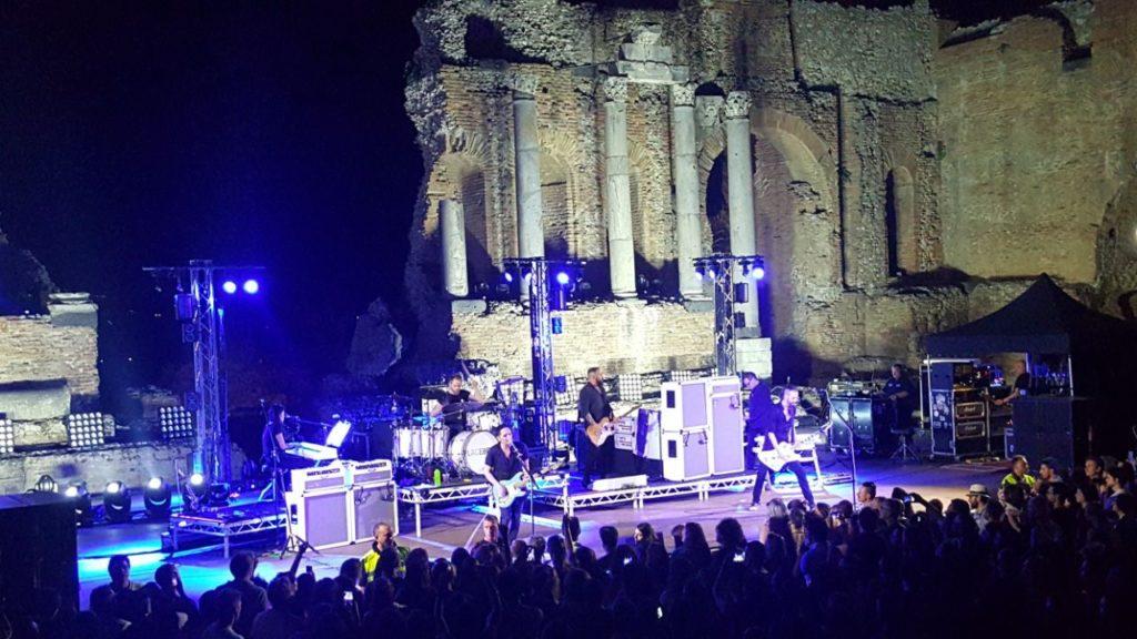 Recensione Placebo concerto Taormina