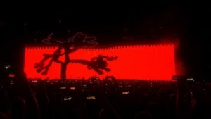 U2 The Joshua Tree Tour Roma Poesia