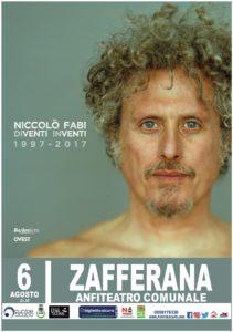 Niccolò Fabi concerto Zafferana