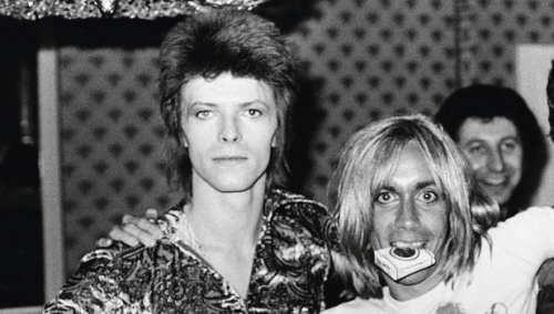 Iggy Pop e David Bowie