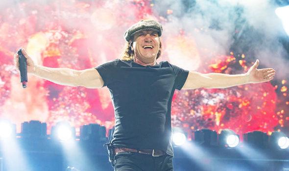 Brian Johnson ex cantante AC/DC