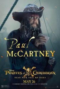 Paul mccartney pirati dei caraibi poster