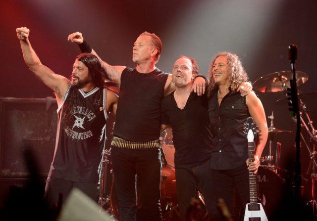 Metallica live su Facebook