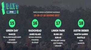 I Days festival 2017 a Monza info utili