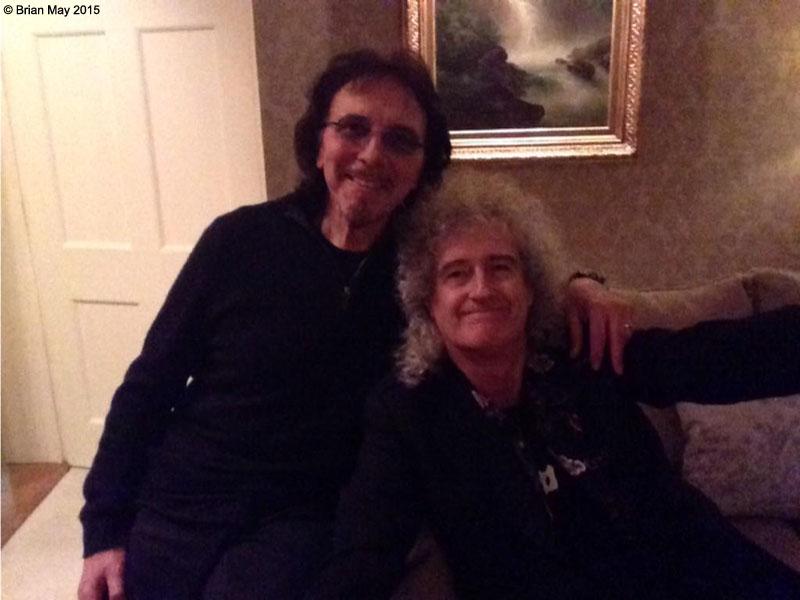 Queen Black Sabbath Collaborazione