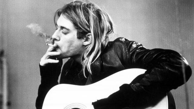 Kurt Cobain mostra inedita dipinti