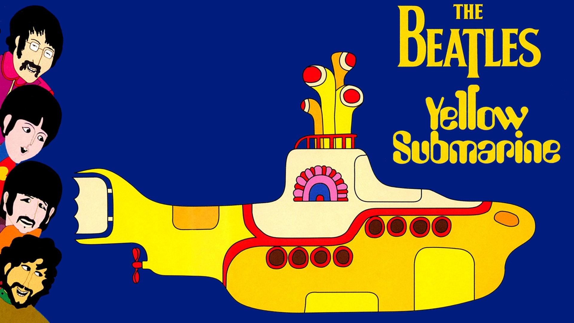 Beatles Yellow Submarine fumetto