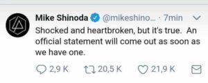 Chester Linkin Park suicidio musicisti Musicaccia