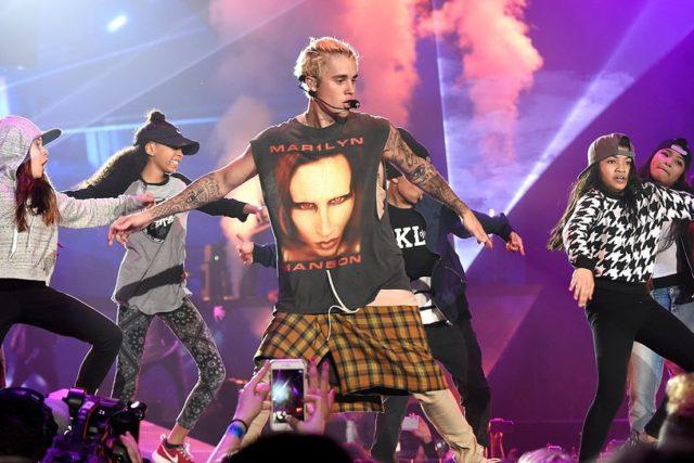 Marylin Manson Justin Bieber lite