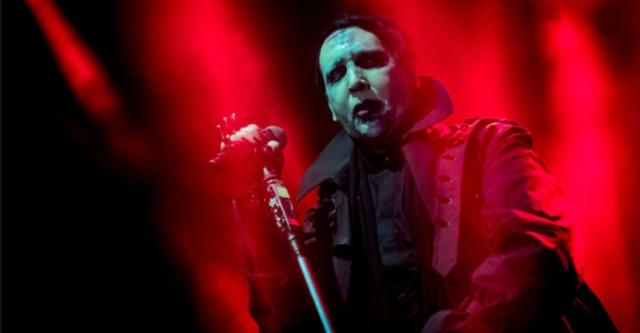 Marilyn Manson incidente morte padre