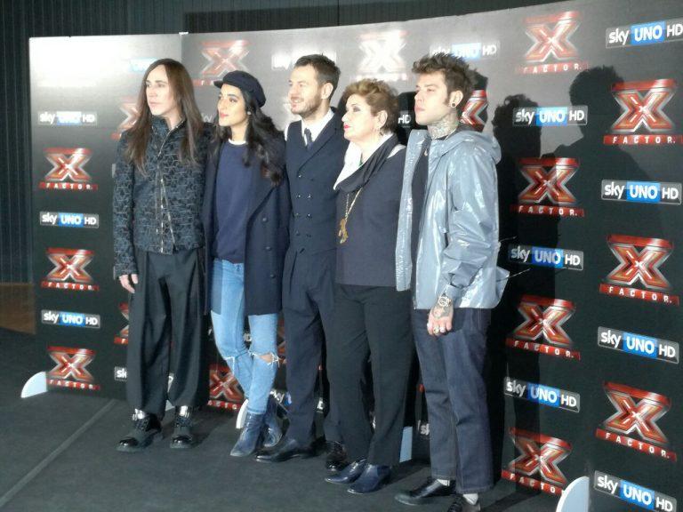 x factor conferenza stampa