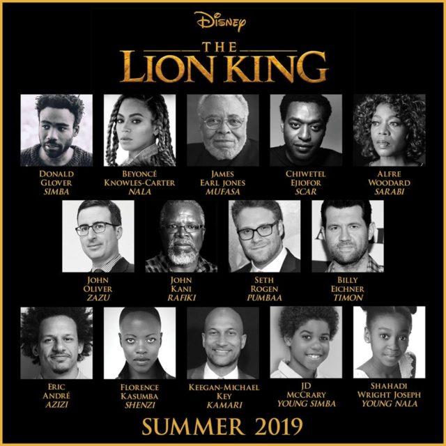 il re leone remake 2019