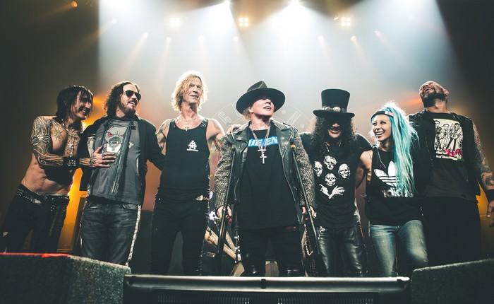 Guns N' Roses Italia 2018