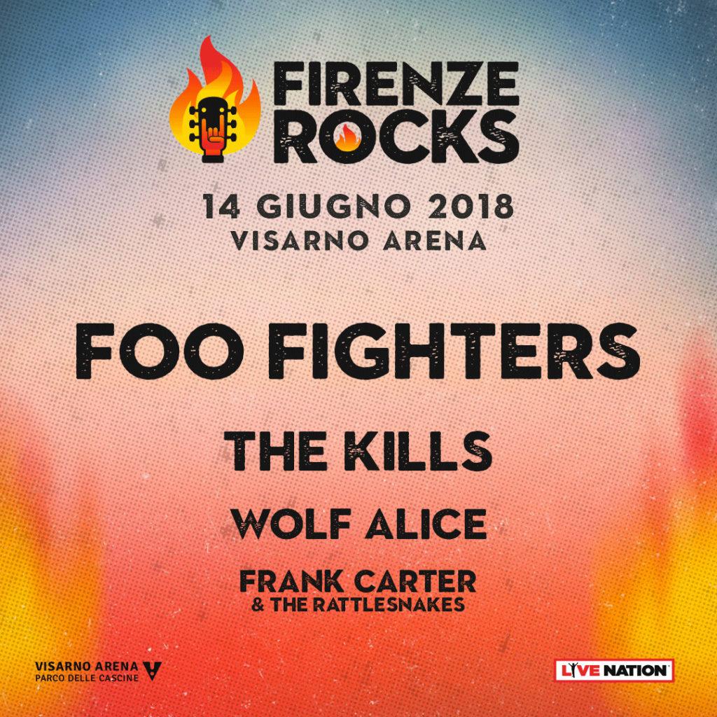 concerti rock 2018