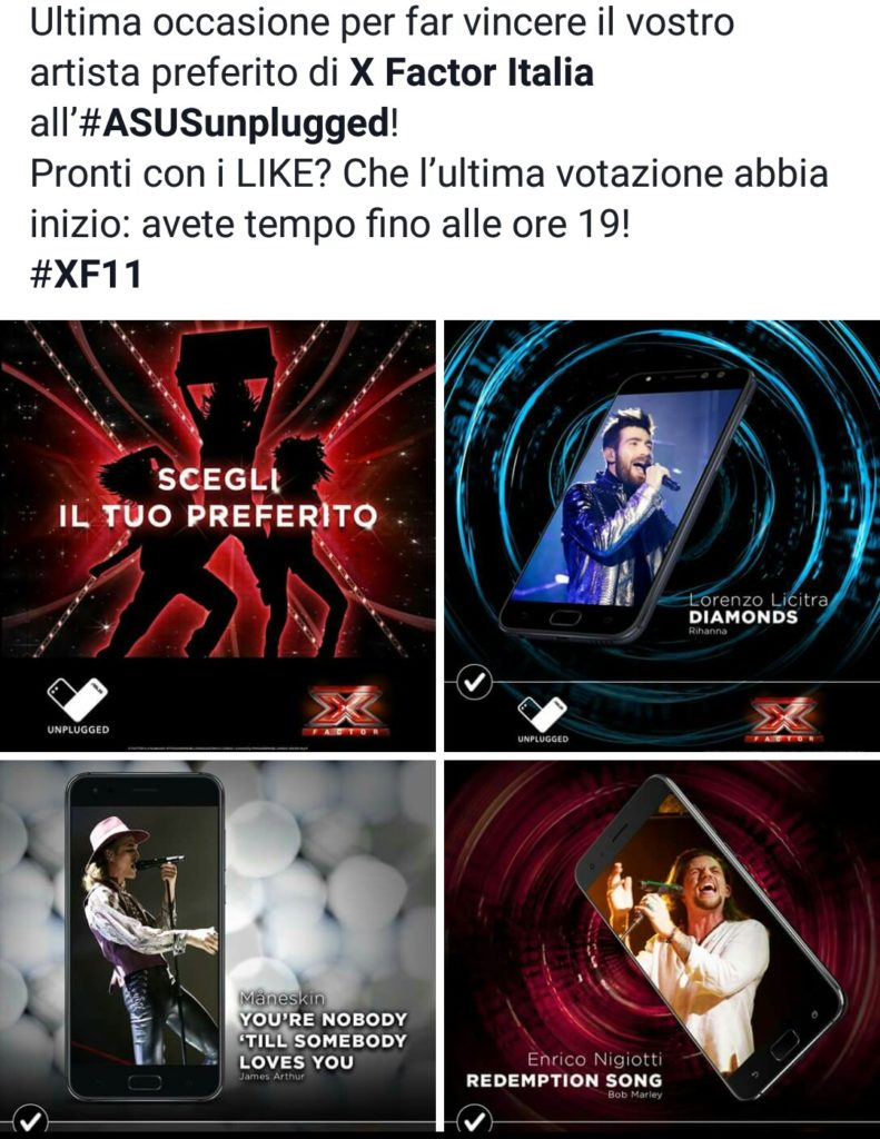 x factor asus unplugged