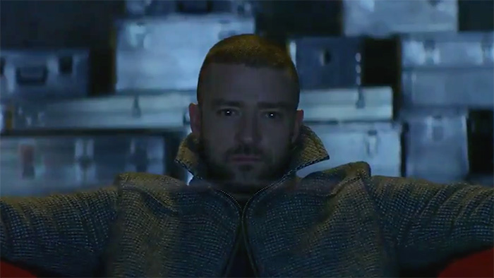 Supplies video passionale Justin Timberlake