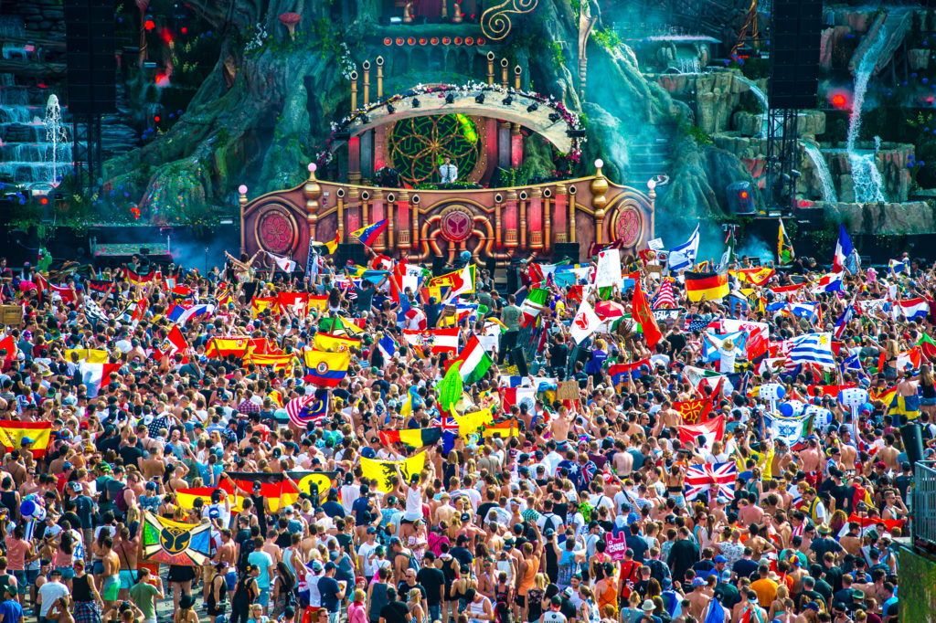 tomorrowland italia evento