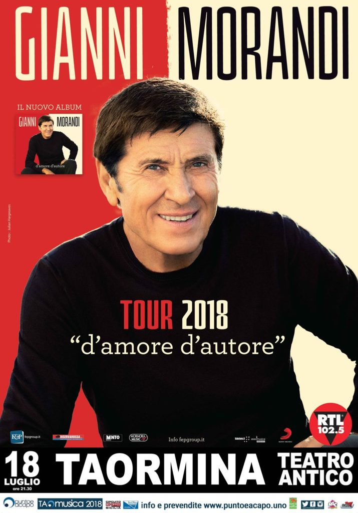 Gianni Morandi Taormina