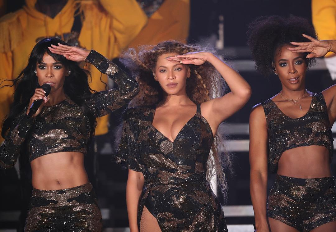 Beyoncé riunisce Destiny's Child