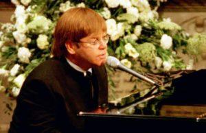 elton john funerale