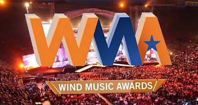 wind music awards scaletta