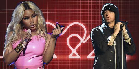 Eminem e Nicki Minaj insieme