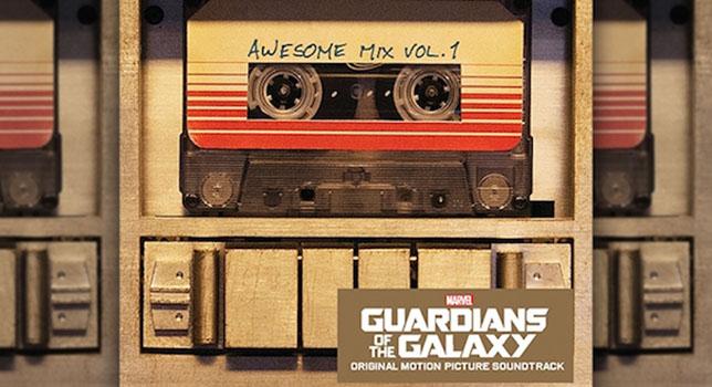 musicassetta guardiani galassia