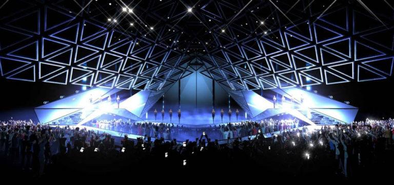 Palco Eurovision