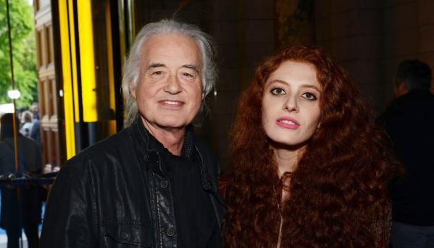 Jimmy Page ragazza relazione