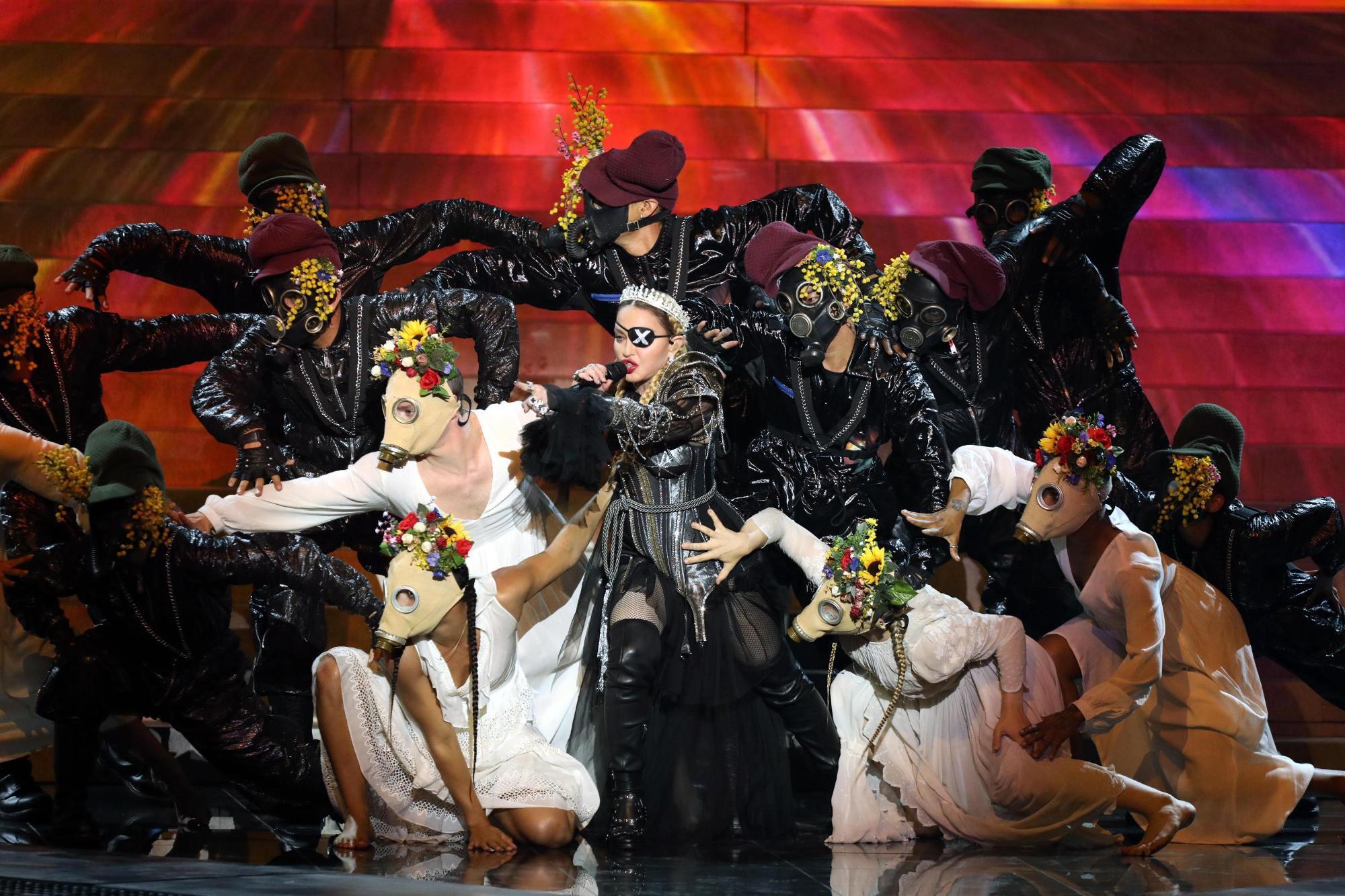 Madonna accusata
