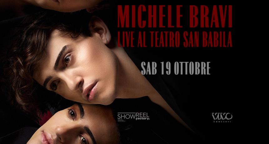 Michele Bravi concerto ottobre
