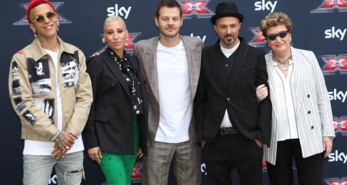 xfactor protagonisti live streaming