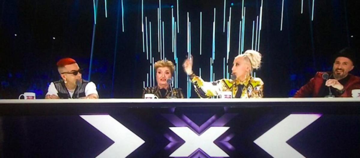 X Factor Sfera Ebbasta