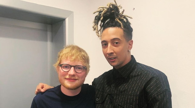 Ghali album Ed Sheeran