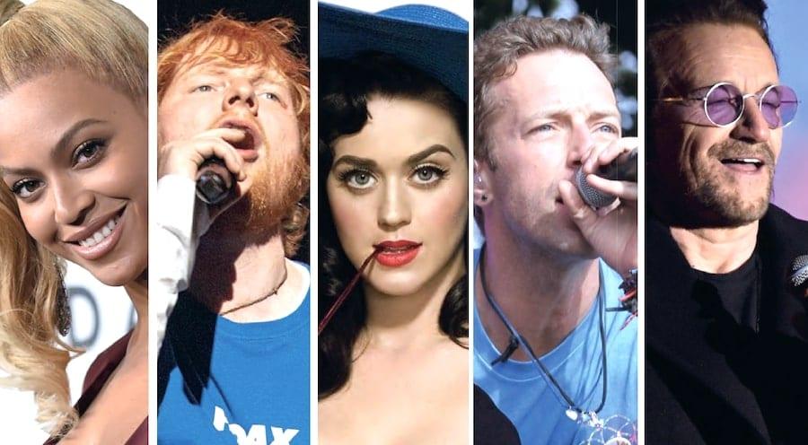 musicisti classifica 2019 ricchi