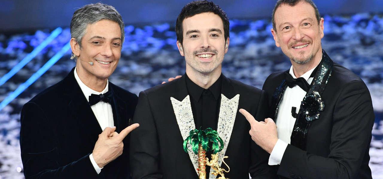 Vincitore Sanremo premiazione