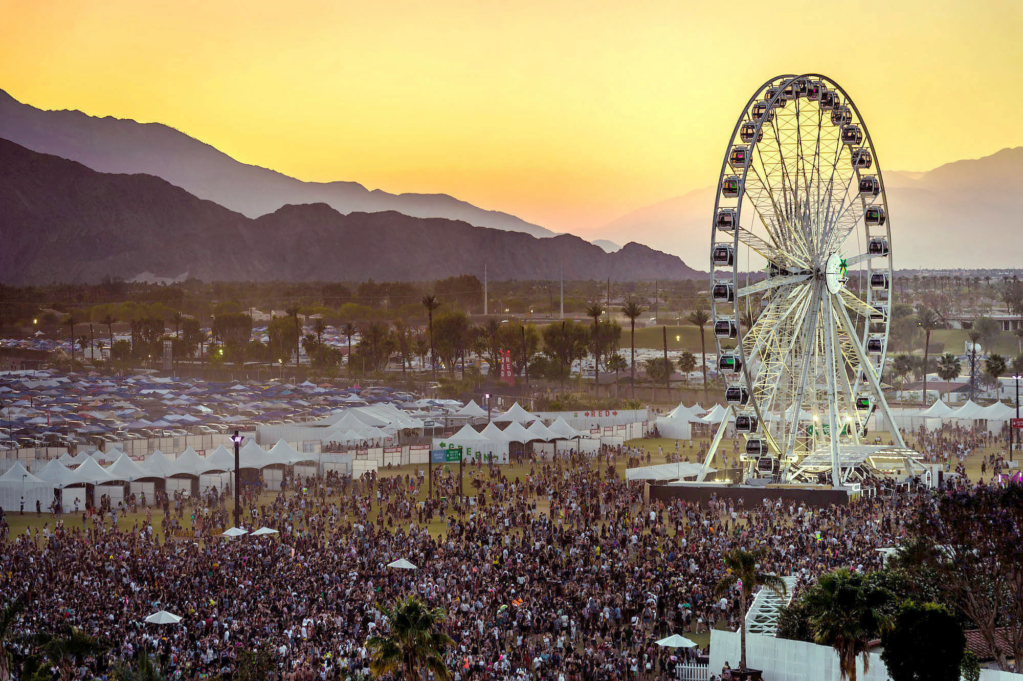 Coachella streaming live concerti