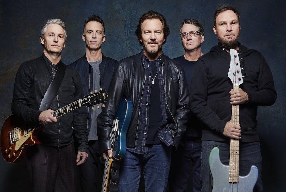 Pearl Jam challenge partecipazione