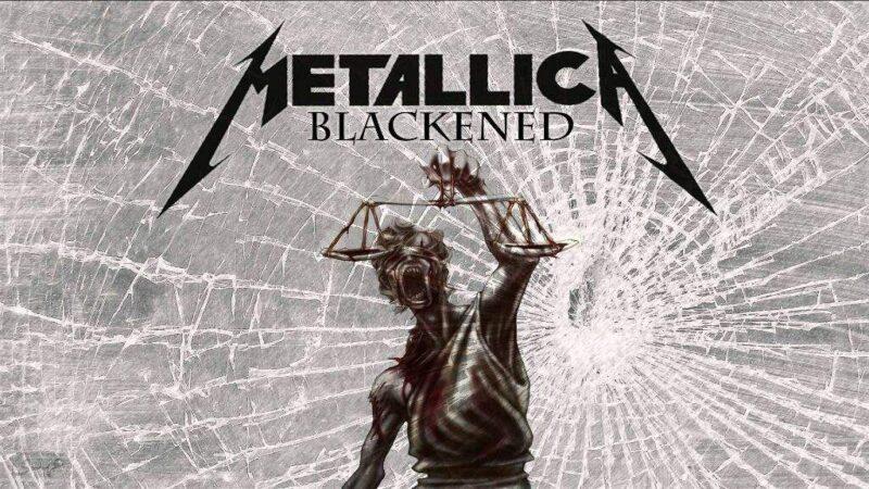 Metallica nuovo album Blackened