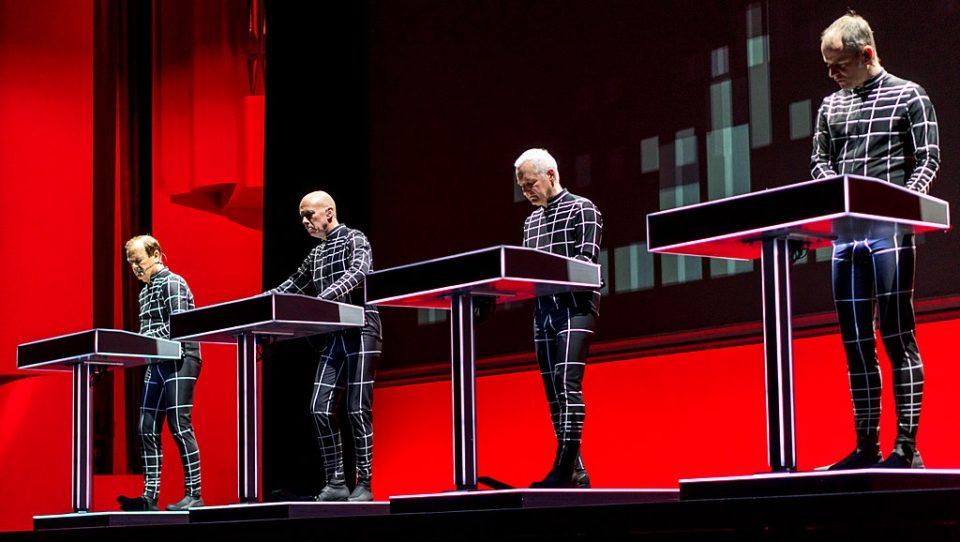 Kraftwerk tour Nameless festival