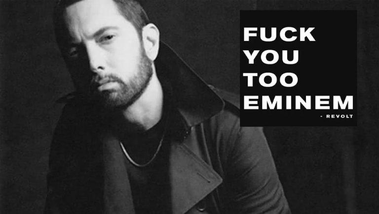 Eminem critica RevoltTV