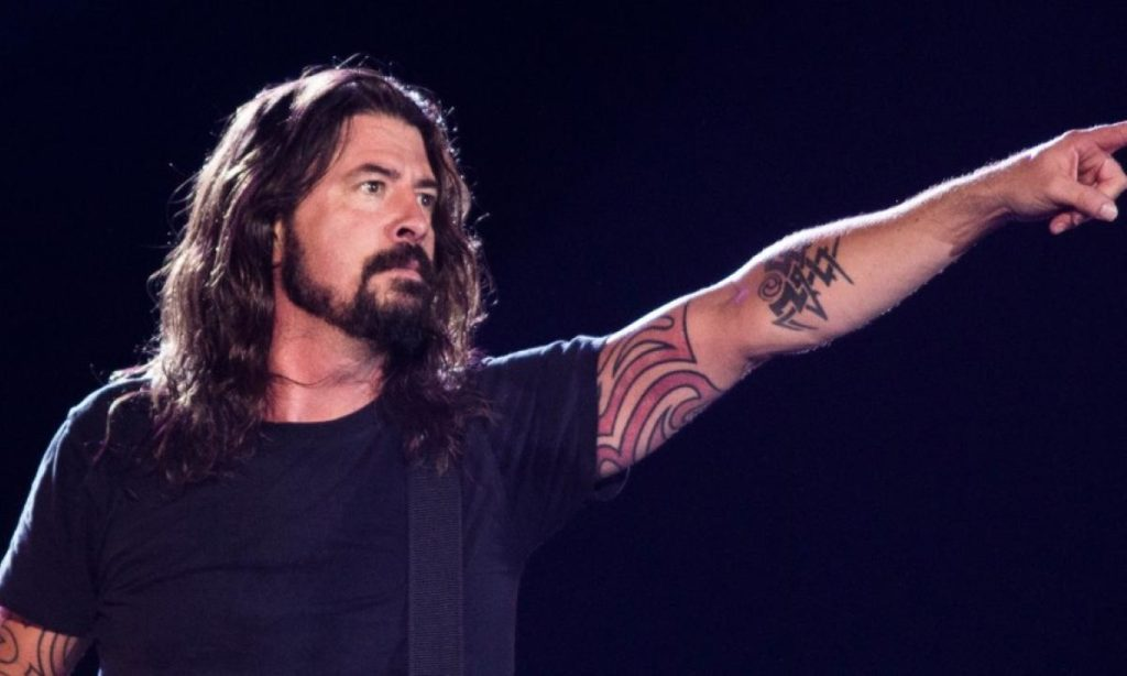 dave grohl debutto frontman
