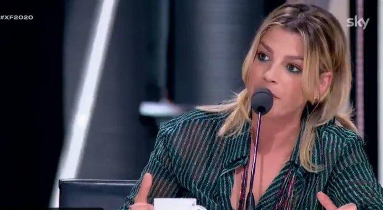 Emma Marrone furiosa concorrente